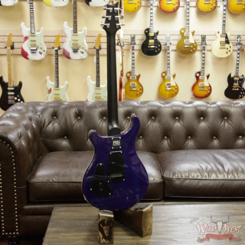 2019 PRS - Paul Reed Smith Paul Reed Smith PRS Wild West Guitars Special Run CE 24 Flame Top Painted Neck 57/08 Pickups Makena Blue 285284 Makena Blue