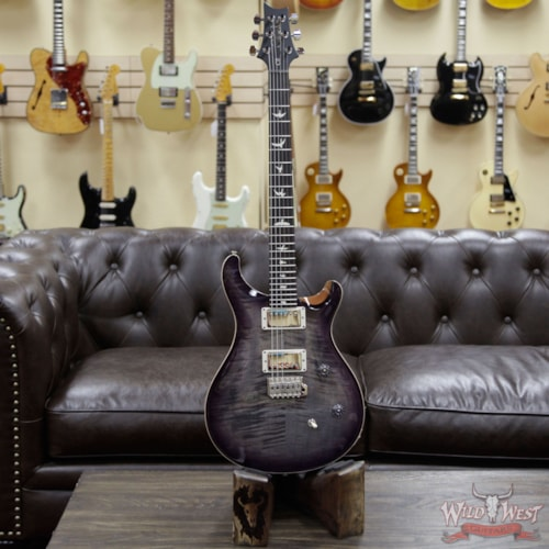 2020 Paul Reed Smith Special Run CE 24 Flame Maple Top 57/08 Pickups Faded Gray Black Purple Burst