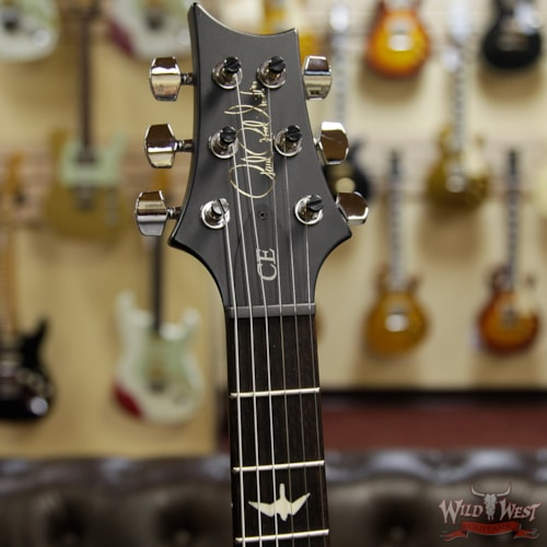 2019 Paul Reed Smith CE 24 Flame Maple Top 57/08 Pickups Faded Gray Black Purple Burst
