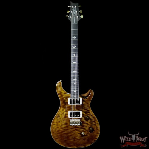 PRS - Paul Reed Smith PRS Wood Library Artist Package Custom 24 Flame Maple Top Fatback African Blackwood Fretboard Black Gold Black Gold, Brand New, $5,099.00