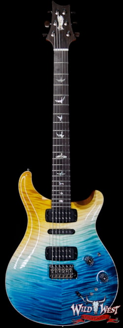 2019 PRS - Paul Reed Smith PRS Private Stock Modern Eagle V Limited Brazilian Rosewood Fingerboard Beach Cross Fade