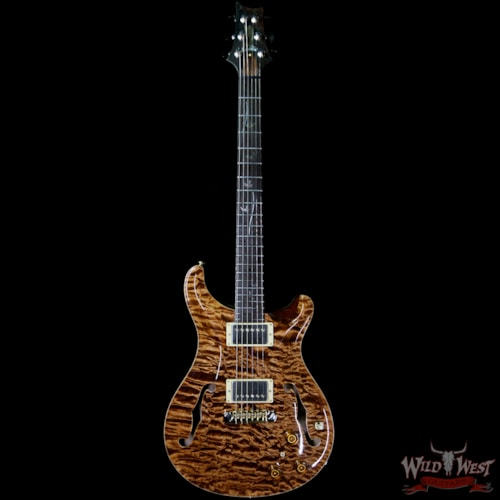 2005 PRS - Paul Reed Smith 2005 PRS Private Stock #898 Hollowbody II Piezo 1-Piece Quilt Top Brazilian Rosewood Board Copperhead Copperhead