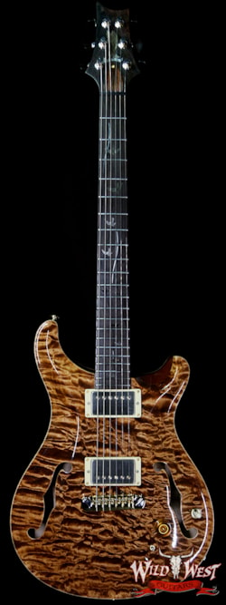 2005 PRS - Paul Reed Smith 2005 PRS Private Stock #898 Hollowbody II Piezo 1-Piece Quilt Top Brazilian Rosewood Board Copperhead