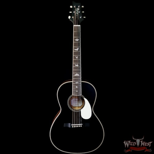 2020 Paul Reed Smith PRS SE P20 Parlor Sized Acoustic Guitar Black Top