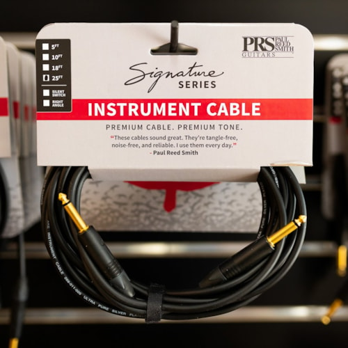 PRS Signature Instrument Cable - 25ft Straight/Straight