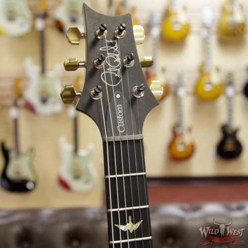2019 PRS - Paul Reed Smith Paul Reed Smith PRS Wood Library 10 Top Custom 24 Quilt Maple Top Ebony Fingerboard Aquamarine Aquamarine