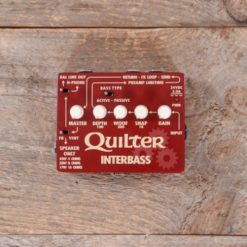 Quilter Labs InterBass Bass Head USED