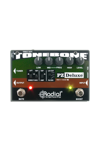 Radial Engineering PZ-Deluxe Brand New $175.00
