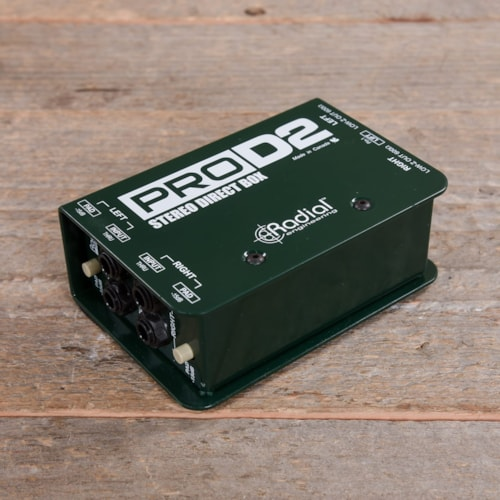 Radial Pro-D2 Passive 2-Channel Direct Box USED