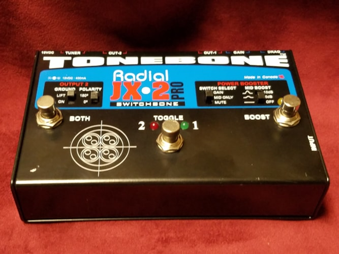 Radial Tonebone JX-2 Pro SwitchBone Excellent, $79.00