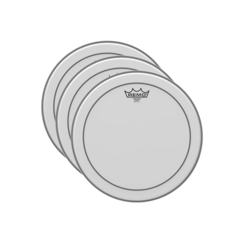 "Remo 13"" Pinstripe Coated Drumhead (3 Pack Bundle)"