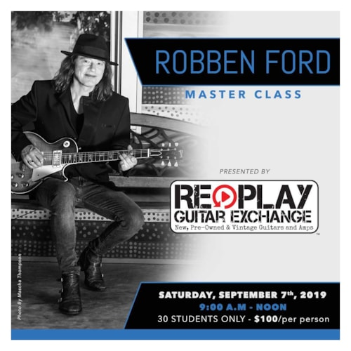 Robben Ford Master Class