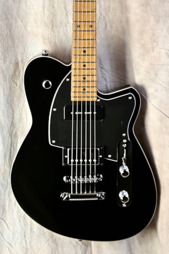 Reverend Guitars Double Agent OG Midnight Black