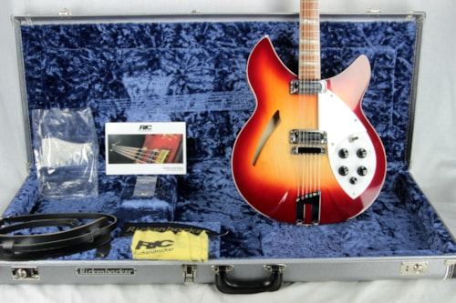 2014 Rickenbacker 360/12c63 Fireglo 12-String Electric Guitar Beatles George Harrison