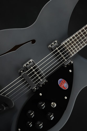 Rickenbacker Eddie's Guitars Exclusive 360 WB - Flat Black/Limited Run (360 SPC FB)