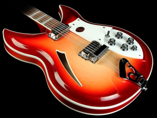 Rickenbacker 381/12v69 Electric Guitar Fireglo Brand New, $5,409.00