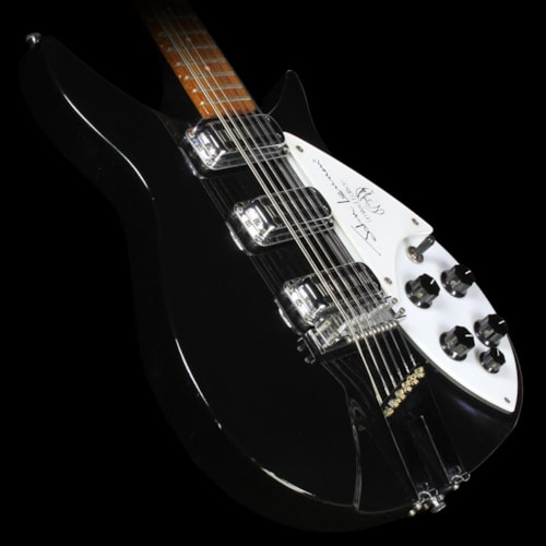 Rickenbacker Used 1990 Rickenbacker 355/12 JL Limited Edition John Lennon Electric Guitar Jetglo Jetglo, Excellent, $4,499.00