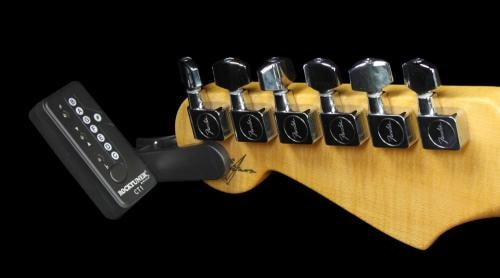 Rocktuner CT1 Clip-On Chromatic Instrument Guitar Tuner Black Black, Brand New, $14.95