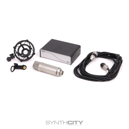 Rode NTV Tube Mic w/ Case & Shockmount Excellent, $395.00