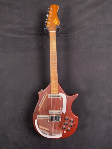 Rogue Electric Sitar Red Crackle