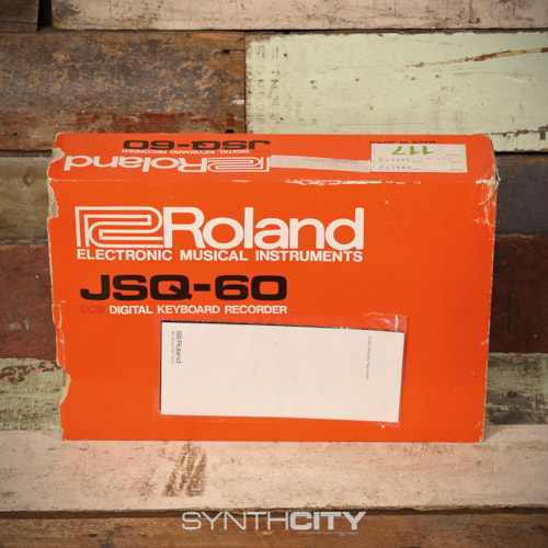 Roland JSQ-60 Sequencer w/ Box & Manual > Accessories | Rock n Roll Vintage  Guitars