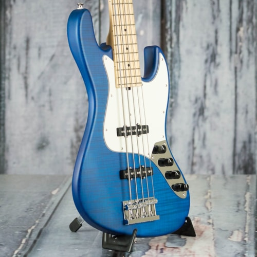 Sadowsky Deluxe Satin Series 5-21 5-String Bass, Translucent Blue