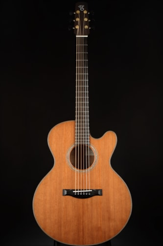 Santa Cruz Fingerstyle Custom Redwood/Koa Brand New, Hard