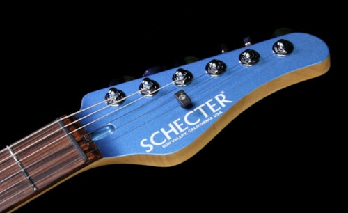 Schecter USA Custom PT Special Run GT Edition Electric Guitar Frost Blue/White Frost Blue/White, Brand New, $1,899.00