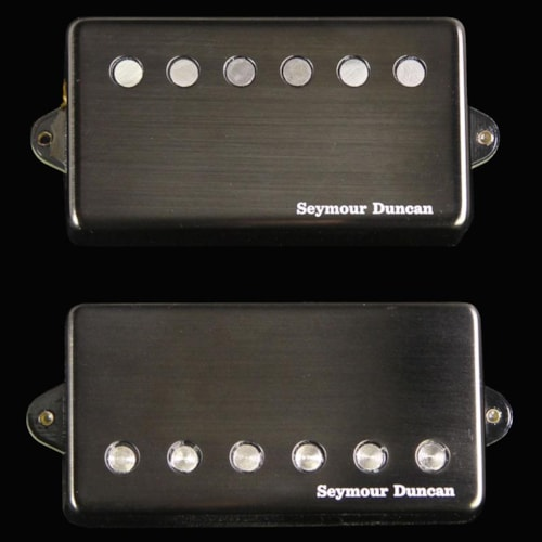 Seymour Duncan Jeff Loomis Signature Blackouts Humbucker Pickup Set (Black) Brand New $249.00