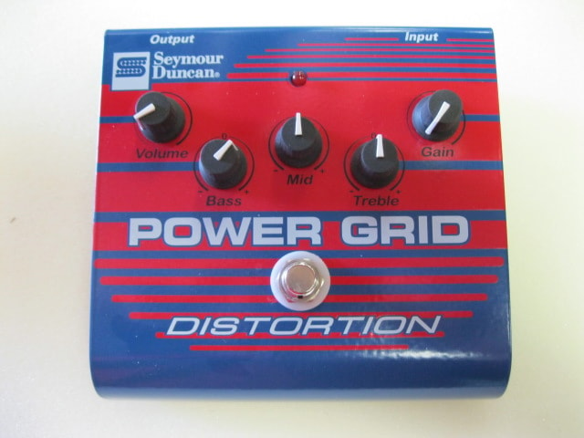 Seymour Duncan Power Grid Distorion Blue, Brand New, $89.00