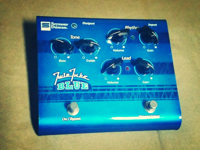 Seymour Duncan Twin Tube Blue Overdrive  Very Good