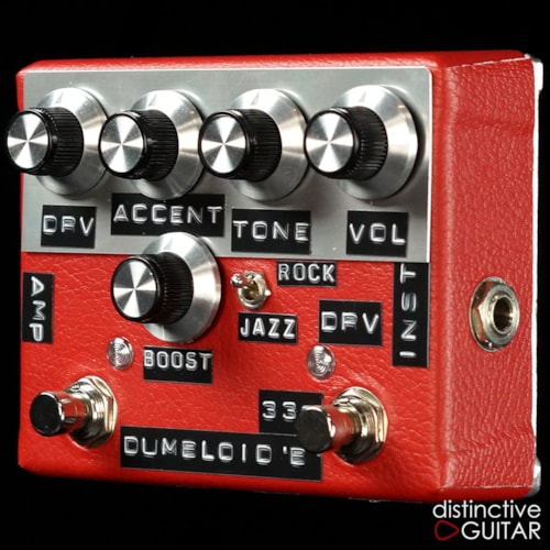 Shin's Music  Dumbloid 335 Boost Overdrive Red Tolex, Brand New