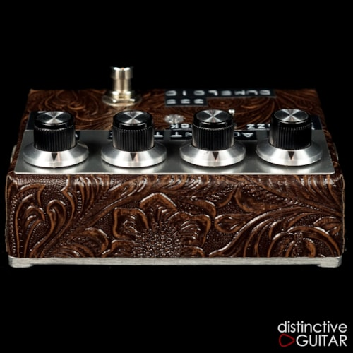 Shin's Music  Dumbloid 335 Overdrive Brown Western, Brand New