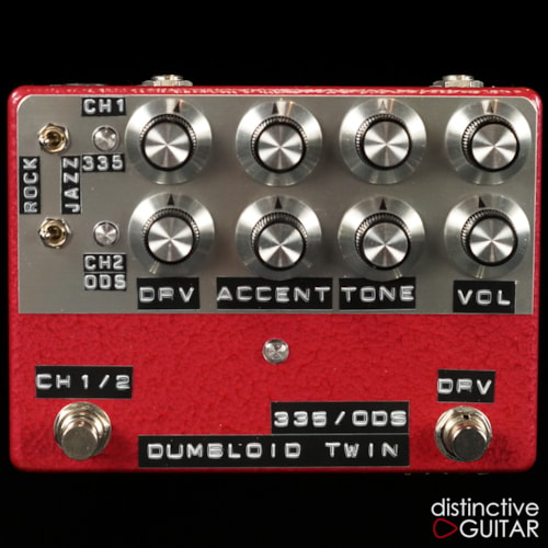 Shin's Music  Dumbloid Twin 335/ODS 1107 Red Hammer, Brand New