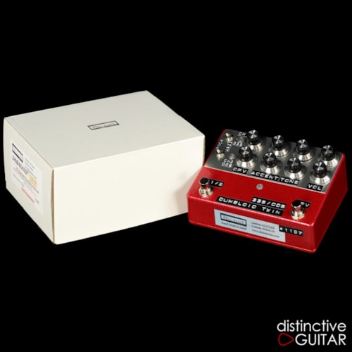 Shin's Music  Dumbloid Twin 335/ODS 1107 Red Hammer, Brand New, $999.95