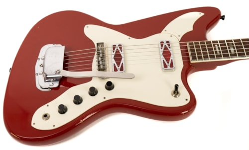 Silvertone Silhouette 14889 in Red