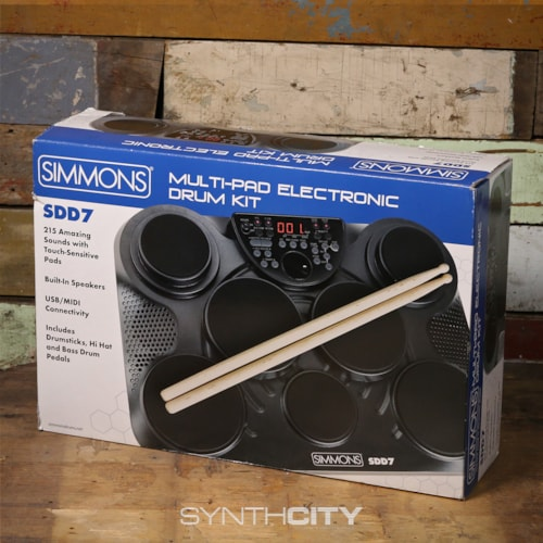 Simmons SDD7 Multi-pad Electronic Drum Kit Excellent