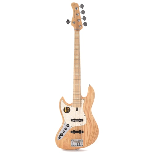 Sire Marcus Miller V7 Swamp Ash 5-String LEFTY Natural (2nd Gen) B-Stock