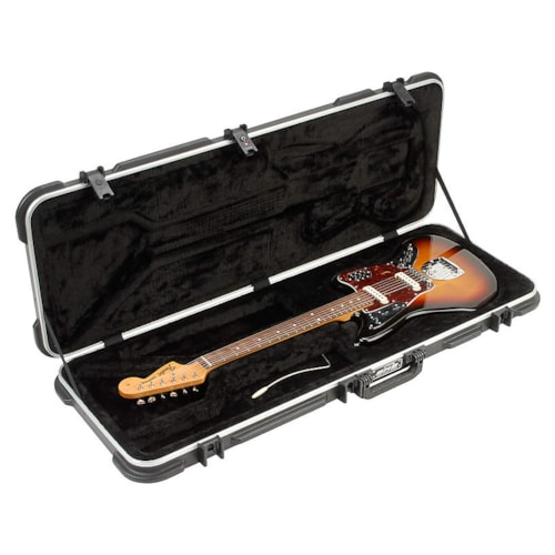 SKB Deluxe Jaguar/Jazzmaster Shaped Hardshell Case w/TSA Latch