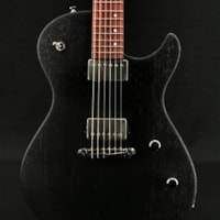 Skermetta Guitars Petros R-100 in Black Doghair Satin