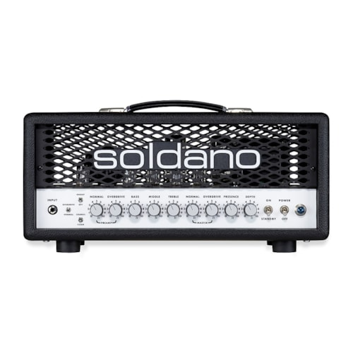 Soldano Super Lead Overdrive 30w Head Black Tolex Pre-Order