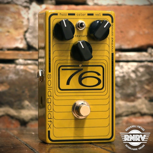 SolidGoldFX 76 Fuzz Brand New $175.00