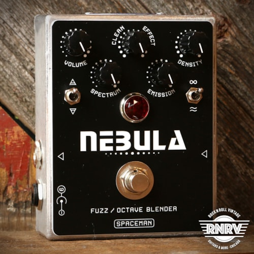 Spaceman Nebula Fuzz / Octave Blender Silver With Black Faceplate Brand New $299.00