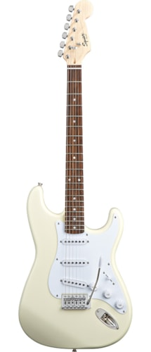 Squier Bullet Strat with Tremolo Arctic White Brand New $149.99