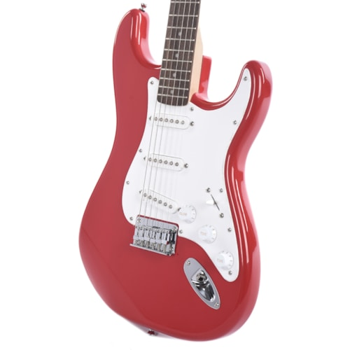 Squier Bullet Stratocaster Hardtail Fiesta Red USED