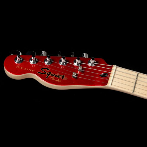 Squier Contemporary Telecaster HH Left-Handed Electric Guitar Dark Metallic Red
