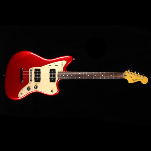 Squier Deluxe Jazzmaster ST Candy Apple Red