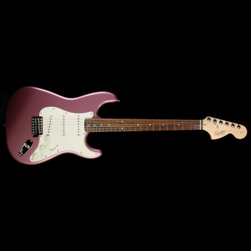 Squier Used Squier By Fender Affinity Stratocaster Electric Guitar Burgundy Mist Burgundy Mist, Excellent, $199.00