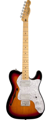 Squier Vintage Modified '72 Tele Thinline Brand New