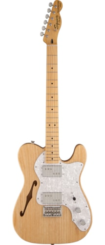 Squier Vintage Modified '72 Tele Thinline Natural